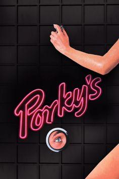 Porky's Movie Poster - Kim Cattrall, Scott Colomby, Kaki Hunter  #Porkys…