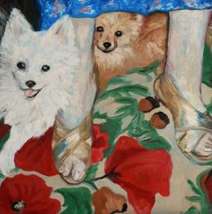 2 dogs with elderly feet, kelly witmer