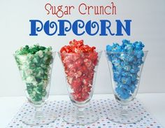 My mom use to make this all the time!  We would put it in a big brown paper bag and shake it up.  That was our favorite part!