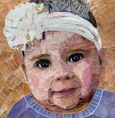 Mosaic Crafts, Mosaic Art, Mosaic Glass, Mosaics, Mosaic Portrait, Custom Stained Glass, Mosaic Garden, Mosaic Ideas, Pet Portraits