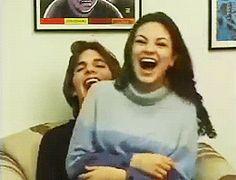 Mila Kunis and Ashton Kutcher ❤️