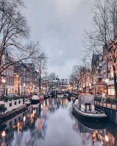 Fotoğrafçı Christina'dan Amsterdam Mimarisini Manzara ile Birleştiren Fotoğraflar Sanatlı Bi Blog 14