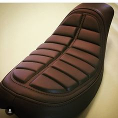 Custom motorcycle seat