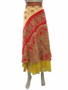 Wrapskirt Silk Sari Long Skirt Red Yellow Sarong Vintage Wrap Around Skirts Mogul Interior,http://www.amazon.com/dp/B00H95QGRU/ref=cm_sw_r_pi_dp_4UBQsb184J95W904