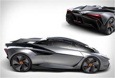 The Lamborghini Perdigon Concept.  Source: blessthisstuff.com
