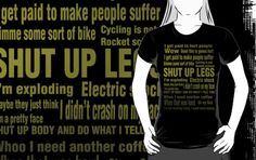 Jens Voigt Quotes by Espressomaker- this shirt is awesome!! a bunch of quotes from one of my favorite pros