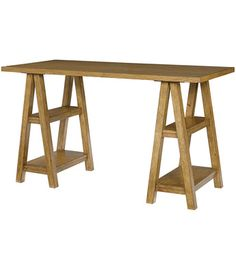 Lea Industries - Americana Collection -    Saw Horse Desk