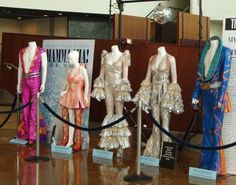 Original costumes from the movie Mamma Mia