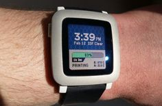 Monitor Your 3D Print Via Smartwatch #3DPrinting