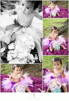 Trin's first birthday photoshoot! (Photographer: Lina Morones (l.morones photography)