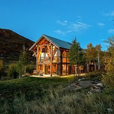 Eco-friendly home in the Colorado hillside uses no electricity, just needs a deck