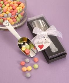 Chrome Candy Scoop from Wedding Favors Unlimited