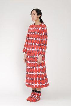 Eley Kishimoto quilted skirt and top for A/W 2015 Yes!