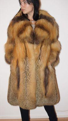 81df5bd9a72b8 SOLDES SALE Manteau de fourrure Croix Renard Renard renard manteau renard  VESTE FUR COAT шуба