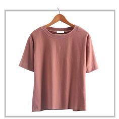 399fdac9f6d HziriP Summer T Shirt Solid Tops Fashion Trend Korean Casual Loose T-shirt  All Match Cool O-neck Short-Sleeve Tee Shirts Top