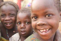 Darfuri refugee kids displaying amazing resilience....