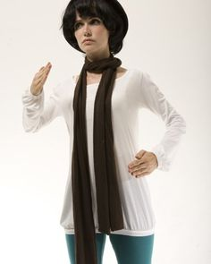 Alternative Pima Scarf, Espresso. From #Alternative. List Price: $24.38. Price: $15.99