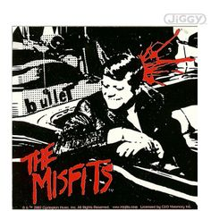 """A great poster of the JFK assassination album cover from the 1978 """"Bullet"""" single by The Misfits - Glenn Danzig's psycho-billy punk band! Check out the rest of our excellent selection of The Misfits posters! Need Poster Mounts. Rockabilly, Heavy Metal, Rock And Roll, Donald Trump Images, Misfits Band, The Misfits, Proto Punk, Danzig Misfits, Everything"""