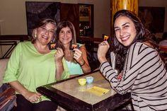 Siempre contentos de tener a Ligia Velasquez (periodismo gastronómico) en el salón