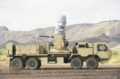 In the MLPWS configuration, Phalanx uses a 20 mm M61A1 Gatling gun that fires M-940 self-destruct rounds at a rate of 4,500 shots per minute. The system features an advanced search and track radar with closed-loop spotting technology that enables autonomous target detection and engagement. Phalanx can be interfaced with other sensors and systems to provide overarching protection of high-value sites on the ground. Oshkosh's HEMTT is a series of 10-ton, eight-wheel-drive vehicles designed to…
