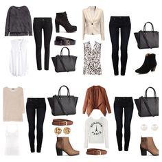 Work Wardrobe, Capsule Wardrobe, Collage, Closet, Image, Fashion, Lets Go, Clothing, Moda