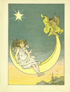 Illustration from Little Folk in Green, by Henrietta Christian Wright, 1883.