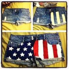 4th of July shorts!