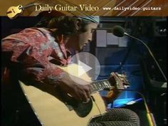 """Ry Cooder - Vigilante Man - http://dailyvideo.guitars/ry-cooder-vigilante-man/ -  Ry Cooder plays """"Vigilante Man""""  in the 70's."""