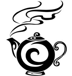 vector graphics - coffee/tea pot