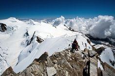 Liskamm (4527 m), Monte Rosa, Switzerland