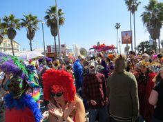 Mardi Gras 2013 Venice Beach Events, Venice CA,