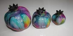 #multicolor #handmade #ceramic #decorative #pomegranates #onebay