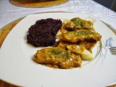 polędwica wieprzowa w sosie ziołowym z buraczkami Tandoori Chicken, Main Dishes, Pork, Beef, Dinner, Ethnic Recipes, Youtube, Main Course Dishes, Kale Stir Fry
