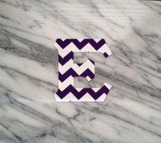 Iron on Greek Letters Purple Chevron by GirlieGreek on Etsy Purple Chevron, Drink Sleeves, Greek, Iron, Letters, Unique Jewelry, Handmade Gifts, Etsy, Vintage