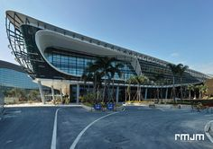 World Architecture Community News - RMJM and Huafa Announce the Grand Opening of the Zhuhai Shizimen Business Cluster Parametric Architecture, Interior Architecture, Interior Design, Future Buildings, Zhuhai, Industrial Development, Building Facade, Convention Centre, Shopping Center