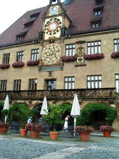 Heilbronn, Germany  - astronomical clock at the town hall