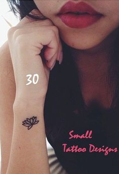Top 30 Small Tattoo Designs for Girls and Boys #Tattoos see more http://magnificentlives.net/tattoos-4/