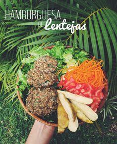 Hace unos días preparé estas riquísimas hamburguesas de lentejas veganas pra el almuerzo. La verdad, es que las prepare porque no tenía muchas verduras, pero tenía lentejas, así que ap…
