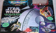 Star Wars Micro Machines A New Hope Death Star Playset - Dec 2016 Shadows Of The Empire, Old School Toys, Star Wars Action Figures, Star Wars Toys, A New Hope, Death Star, Star Wars Collection, Childhood Toys, Retro Toys