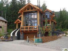Samuelson Timberframe Design - Kicking Horse Resort