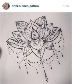 tatuagem flor de lótus pequena - Pesquisa Google