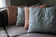 The Colorless Cottage: Pops of Pillow Color