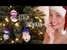 Vero Vi 💋 LITTLE SNOWMAN para tu arbol de navidad 🎄 Snowman, Christmas Bulbs, Holiday Decor, Youtube, Home Decor, Decoration Home, Christmas Light Bulbs, Room Decor, Snowmen