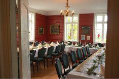 Bryllupslokale i Bergen på Øvre-Eide Gård Bergen, Eid, Norway, Conference Room, Table Decorations, Wedding, Home Decor, Valentines Day Weddings, Decoration Home