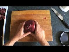 7 Ways To Chop An Onion [Video] - There are several ways to slice, dice or chop an onion, but these are probably the most creative ones you can ever imagine. (Humor)