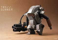 Adorable Lego armored suit