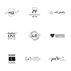 400 sophisticated clean free minimal logo templates logos are minimalist logo templates collection free vector pronofoot35fo Choice Image