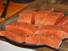 Somon la cuptor - Taiat felii si condimentat Grapefruit, Ethnic Recipes
