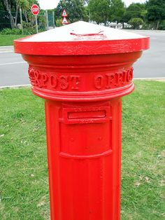 Oldest Official Letter Box in South Africa, Grahamstown. My home town! Official Letter, Red Words, Red Things, Post Box, Afrikaans, Post Office, Homeland, My Favorite Color, Cry