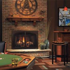 gas fireplaces | Location: Basement | All About Gas Fireplaces | This Old House